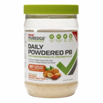 Gnc Puredge GNC Puredge Daily Powdered PB with Roasted Peanuts, Protein & Flax, Natural Peanut Butter, 6.9 oz