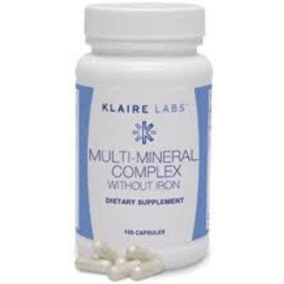 Klaire Labs - Multi-Mineral Complex W/O Iron 100 vcaps