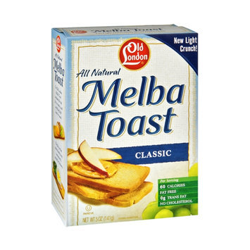 Old London All Natural Classic Melba Toast