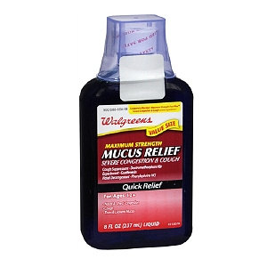 Walgreens Mucus Relief Maximum Strength Severe Congestion & Cough