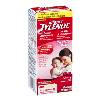 Infants' Tylenol Simple Measure Pain Reliever and Fever Reducer Cherry Flavor
