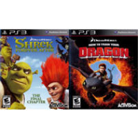 How to Train Your Dragon and Shrek Forever After 2Pack