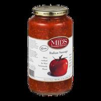 Mid's Homestyle Pasta Sauce Italian Sausage