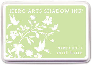 Crown Marking Equipment Co. Hero Arts Shadow Inks-Green Hills