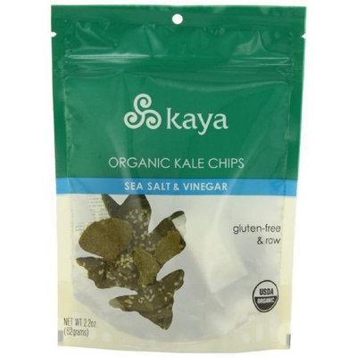 Kaia Foods Kaya Foods Kale Chips, Og, Raw, Slt&Vin, 2.20 Ounce