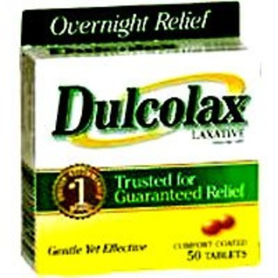 PHARMATON NATURAL HEALTH PRODUCTS Dulcolax Laxative Tablets 5Mg - 50'S