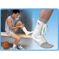 Core 6310 Lace-Up Ankle Support White - Core Products # 6310 - X Large