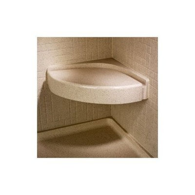 Swanstone Corner Shower Seat Finish: Tahiti Ivory