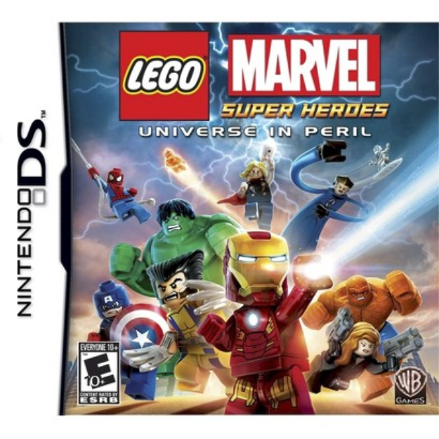 Warner Brothers Lego Marvel Super Heroes (Nintendo DS)