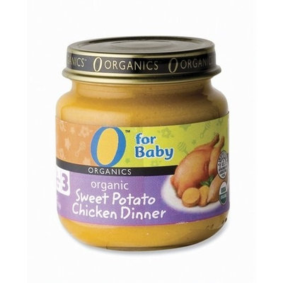 O Organics for Baby Organic Sweet Potato Chicken Dinner, Stage 3, 4-Ounce Jars (Pack of 12)