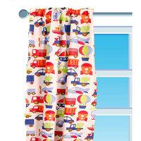 Bacati - Curtain Panel, Transportation