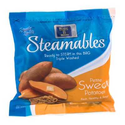 Simply Spuds Steamables Petite Sweet Potatoes