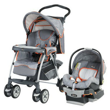 Chicco Baby Stroller w/ Car Seat:  Cortina KeyFit
