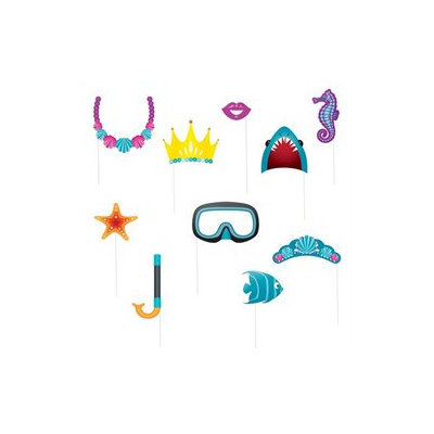 Under The Sea Photo Booth Props Pkg/10