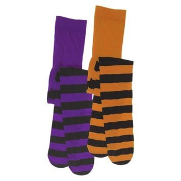 Target Home Halloween Girls Striped Tights