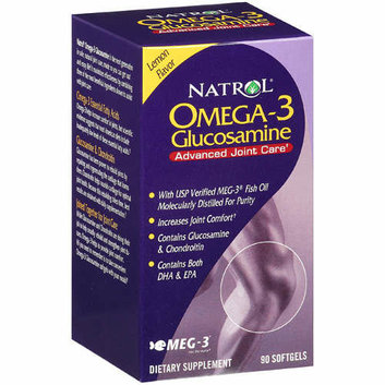 Natrol Glucosamine Omega 3 Supplement 1 CT