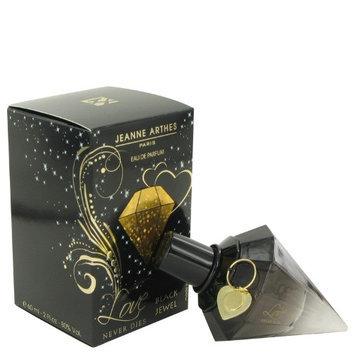 Love Never Dies Black Jewel by Jeanne Arthes Eau De Parfum Spray 2 oz