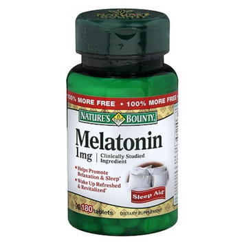 Nature's Bounty Natural Melatonin 1mg