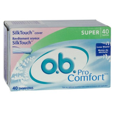 o.b. Pro Comfort Non-Applicator Tampons