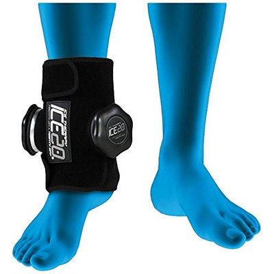ICE20 Ice Therapy Double Ankle Compression Wrap