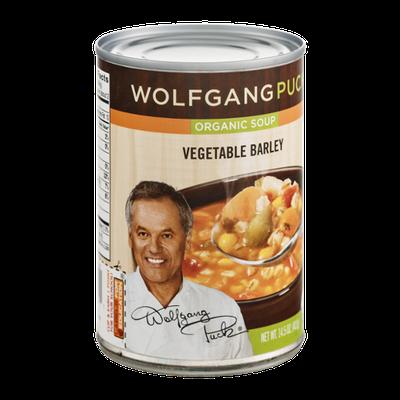 Wolfgang Puck Organgic Soup Vegetable Barley
