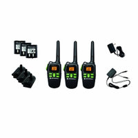 Giant Motorola MD200R FRS Two-Way Radio Triple Pack