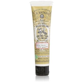 Jr Watkins J.R. Watkins Hand Cream, Vanilla, 3.3-Ounce Tube