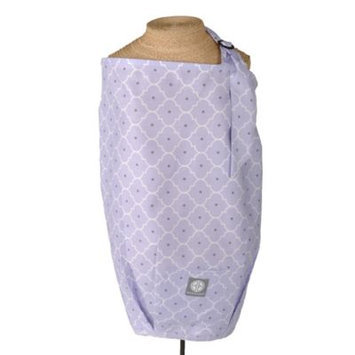Balboa Baby Nursing Cover - Lavender Trellis