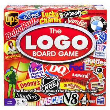 Spin Master Games The Logo Board Game Ages 12+, 1 ea