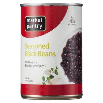 market pantry Market Pantry Seasoned Black Beans 15.5 oz