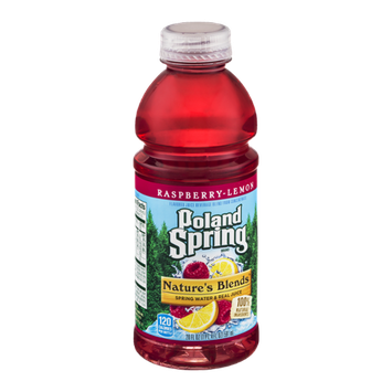 Poland Spring Nature's Blends Spring Water & Real Juice Raspberry-Lemon