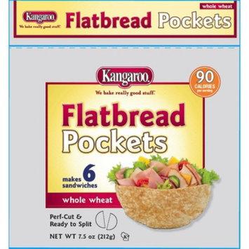 KANGAROO Kangaroo Wheat Flatbread Pockets 6ct