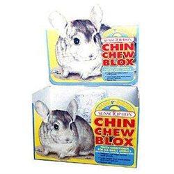 Sunseed Chinchilla Wood Chew Blox Display -12pc