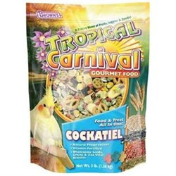 Fm Brown's Fm Browns BBN44657 Tropical Carnival Gourmet Tiel 3lb 6 Piece
