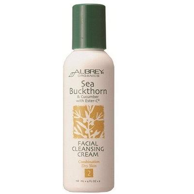Aubrey Organics Sea Buckthorn & Cucum W/Ester-C Facial Cleansing Cream
