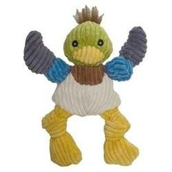 Allure Pet Hugglehounds Duck Knotties Dog Toy Large