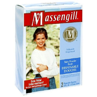 Massengill Disposable Douche, Fresh Baby Powder 2 - 6 fl oz (177 ml) units