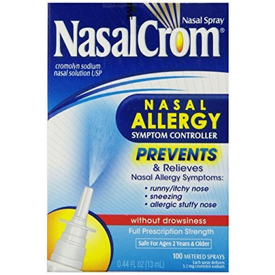 NasalCrom Nasal Spray without Drowsiness, .44 fl oz (13 ml)