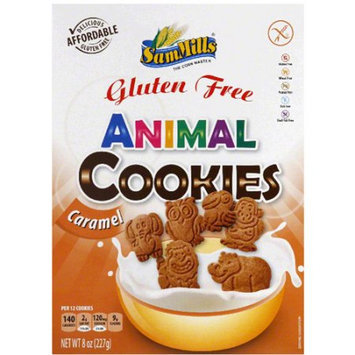 Sam Mills Animal Caramel Cookies, 8 oz, (Pack of 7)