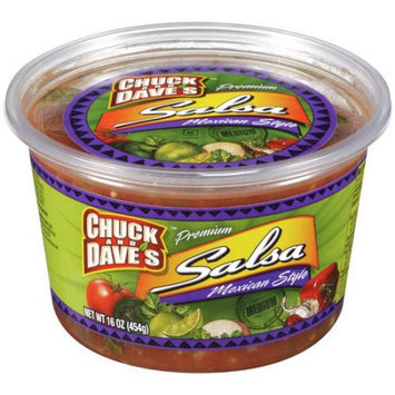 Kellogg Chuck And Dave's Premium Mexican Style Salsa, 16 oz