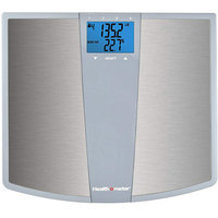 Health o meter Stainless Steel Body Fat Bath Scale with Daily Caloric Intake Technology