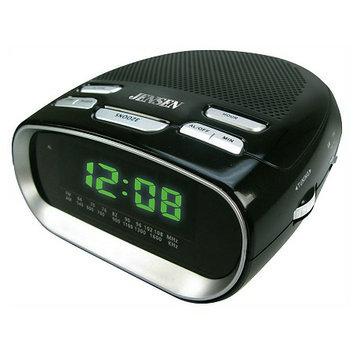 Jensen Phone Charging Dual Alarm Clock Radio JCR-260