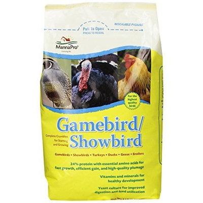 Manna Pro 0046203236 Game/Show Bird Feed, 5-Pound