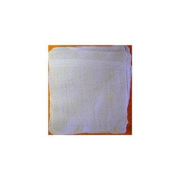 Bulk Buys 12x12 White Wash Cloth - Case of 24
