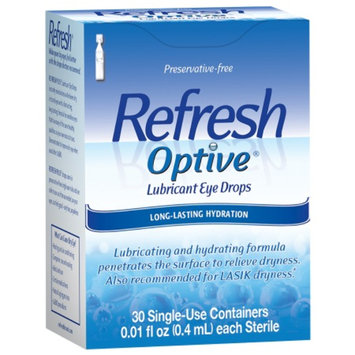 Refresh Optive Sensitive Preservative-Free Lubricant Eye Drops