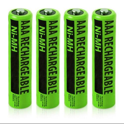 SBC NiMH AAA Batteries (4-Pack) NiMh AAA Batteries 4-Pack