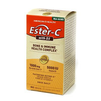 American Health Ester-C with D3 Bone & Immune Health Complex