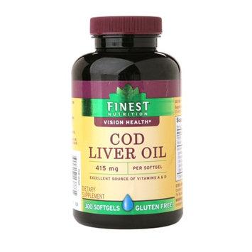Finest Nutrition Cod Liver Oil Softgels
