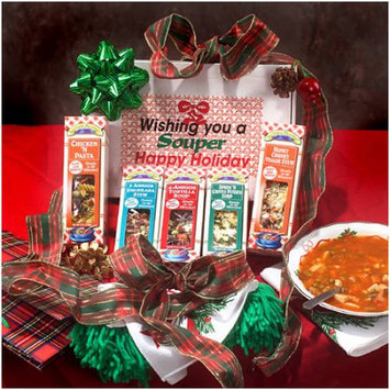 Leonard Mountain Wishing you a Souper Happy Holiday Gourmet Soup Mixes, 5 oz, 6 count