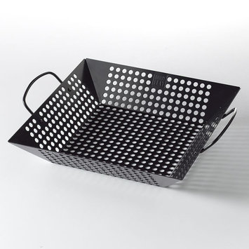 Bobby Flay Nonstick Grill Basket (Black)